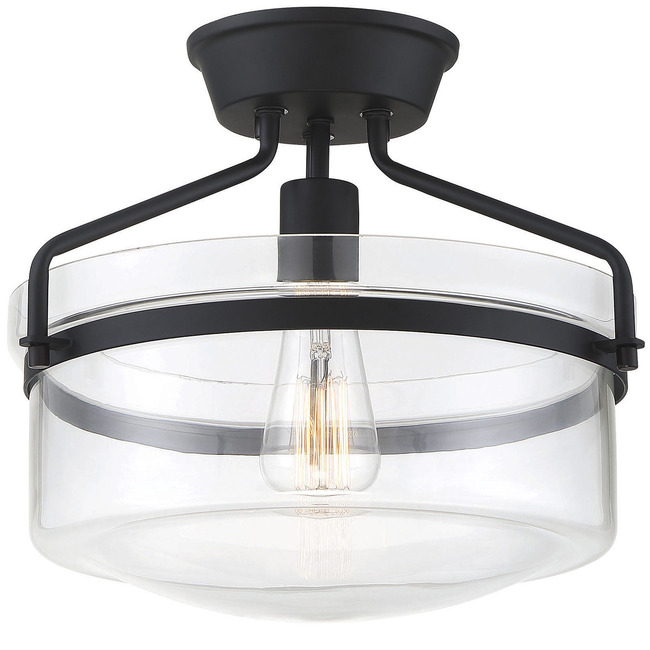 Hank Semi Flush Ceiling Light  by Modern Lighting