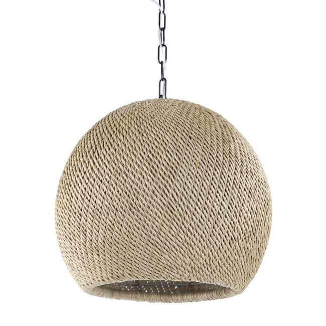 Augustine Outdoor Sphere Pendant  by Palecek