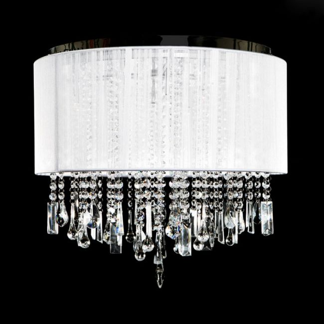Beverly Drive Dual Hanging/Flush Mount by Avenue Lighting   HF1502-WHT