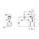 Lytespan Alcyon MR16 Mini Cylinder Track Head -  /