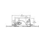 Aurora Round 2 Inch Beveled Housing and Trim -  /