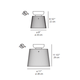 Jupe Classic Ceiling Light -  /