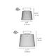 Jupe Classic Ceiling Light -  /