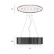 Spiral 6-light Pendant -  /