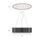 Spiral 6-light Pendant -  /