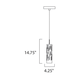 Scope 1-light LED Pendant -  /