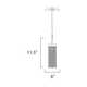 Shanell 1-light LED Pendant -  /