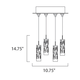 Scope 4-light LED Pendant -  /