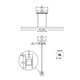 Glide Glass Linear Suspension -  /