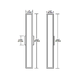Garbo Non Dimmable Bath Bar -  /