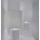 Tile Lamp - White / White