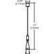 Monorail Adjustable Standoff -  /