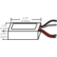 60W LED 12VAC Electronic Transformer -  /