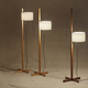 Tmm Floor Lamp - Natural Oak / White