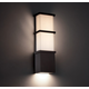 Elevation Outdoor Wall Sconce - Bronze / Mitered