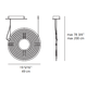 Copernico 500 LED Suspension -  /