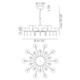 Spillray 20 Chandelier -  /