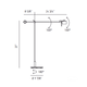 AX20 Adjustable Floor Lamp -  /