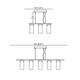 Copa Linear Pendant -  /