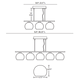 Palla 5 Linear Suspension -  /