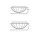Pinta Flush Mount Ceiling Edison -  /