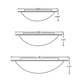 Ring Ceiling Flush Mount  -  /