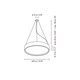 Elea Dimmable Pendant -  /