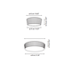 Plafonet Ceiling Flush Mount -  /