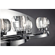 Buca Bath Bar - Chrome / Clear