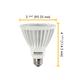 PAR30L 14W 25 Deg 3000K 120V Dimmable LED -  /