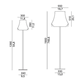 Cloche Floor Lamp -  /