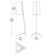 Couture Long Floor Lamp -  /