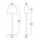Rettangola Floor Lamp -  /