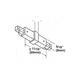 1-Circuit Track LA-2N Non Conductive Mini Connector -  /