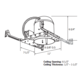 RL38 6 Inch New Construction Non IC Housing -  /