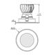 4 Round LED Shower Trim 10W 2700K WFL -  /