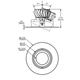 3.5 Round Adj LED Trim 10W 2700K WFL -  /