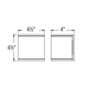 Cube Outdoor Wall Sconce -  /