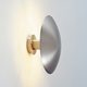 Disco Wall Sconce - Satin Nickel /