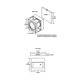 Cube-O Wall/Ceiling Mount -  /