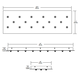 Fast Jack LED Linear 17 Port Canopy -  /
