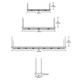 Lyra Halogen Linear Suspension -  /