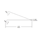Monorail Wall Line Bare Head -  /