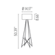 Ray F1 Floor Lamp -  /