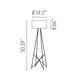 Ray F1 Floor Lamp -  /