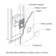Frame Kit Wall Recessed 4 Pack -  /