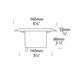 Lawn Light Outdoor Deck Mount Fixture -  /