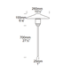 Tier Outdoor Landscape Light -  /