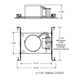 IC922LEDG4 6 In 900 Lumen IC New Construction Housing 120V -  /