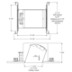 IC926 6 Inch Standard Slope IC New Construction Housing -  /